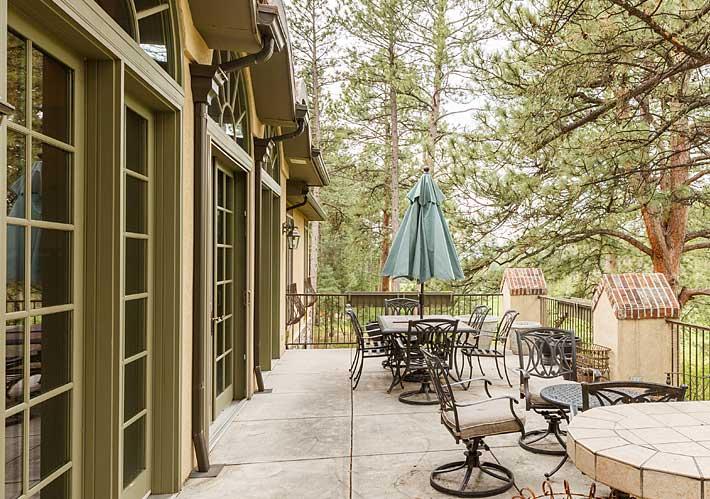 325 Paragon Way, Castle Pines Village, Castle Rock, CO - Back Porch