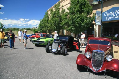 Hot Rods in the Village Show