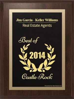 Jim Garcia Receives 2014 Best Businesses of Castle Rock Award