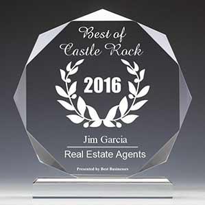 Jim Garcia 2016 Best Businesses of Castle Rock Award