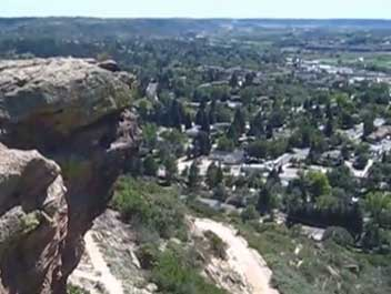 Open youTube On Top of the Rock in Castle Rock, Colorado