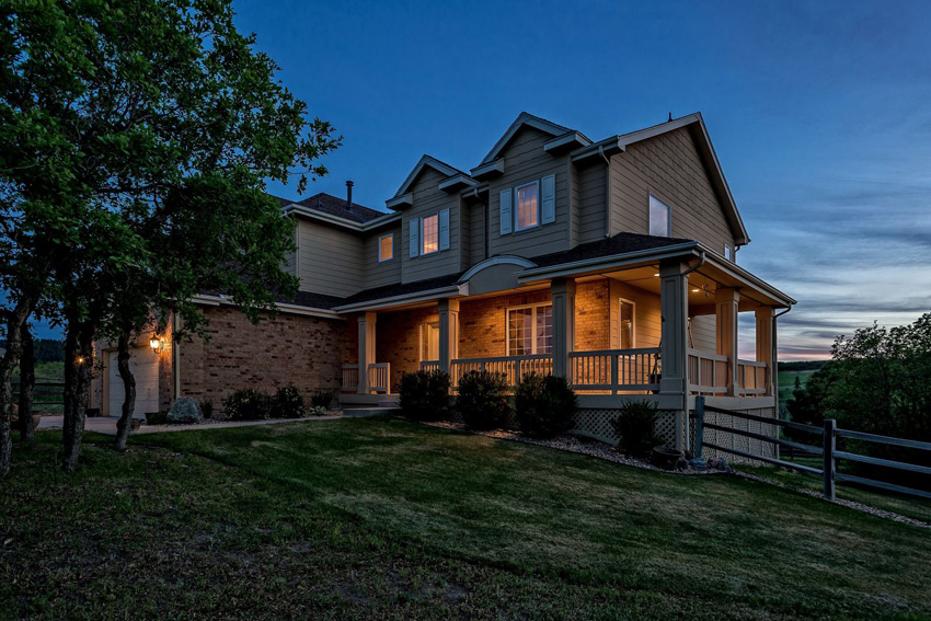 homes for sale bell mountain ranch castle rock co
