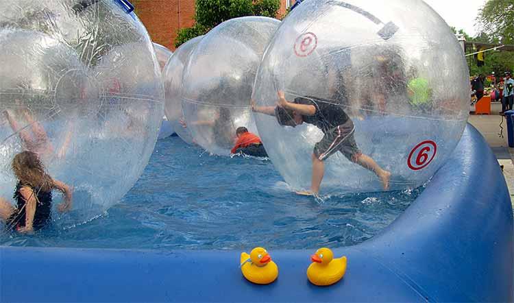 Boulder Creek Festival is the Rubber Duck Race