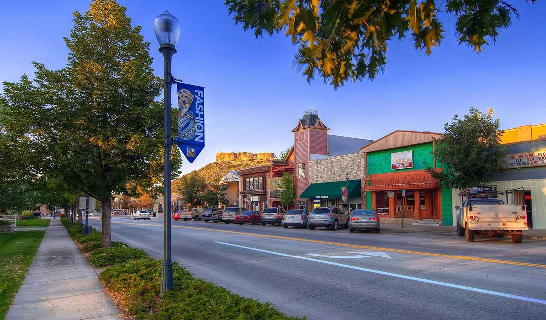 Castle Rock CO Downtown Shops