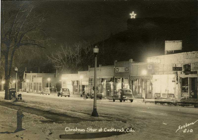 Castle Rock Lighting of the Star – 1940