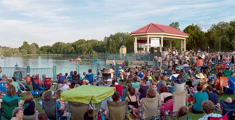 City Park Jazz Outdoor Amphitheater
