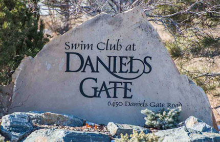 Daniels Gate Castle Pines CO Swim Club