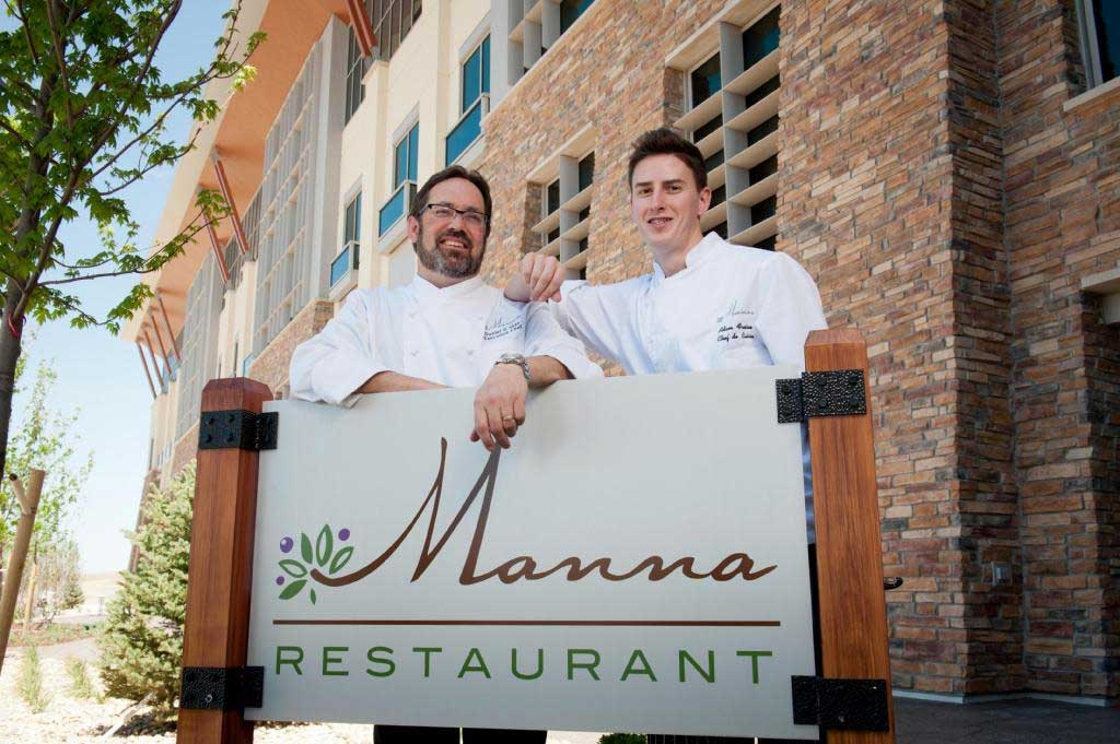 Executive Chef Dan Skay and Chef de Cuisine Adam Freisem