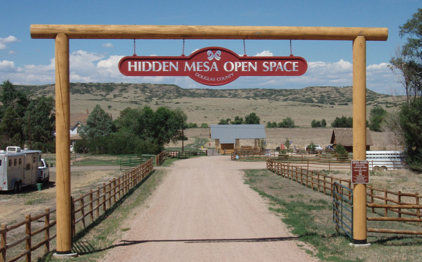 Hidden Mesa Open Space Near Castle Oaks Estates