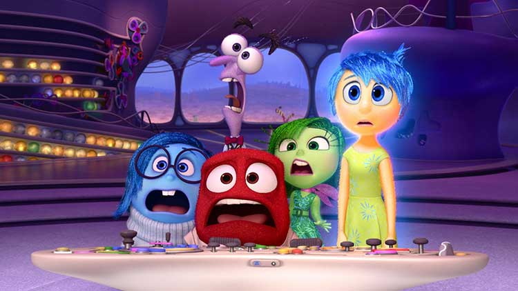 Inside Out Free Summer Movie in Downtown Castle Rock CO