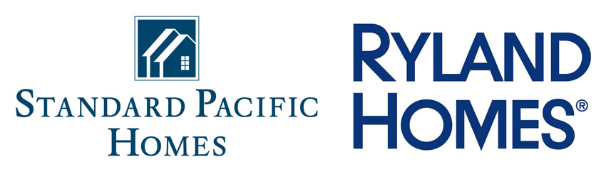 Standard Pacific Homes and Ryland Homes