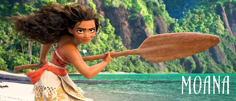 Moana Free Summer Movie in Downtown Castle Rock CO