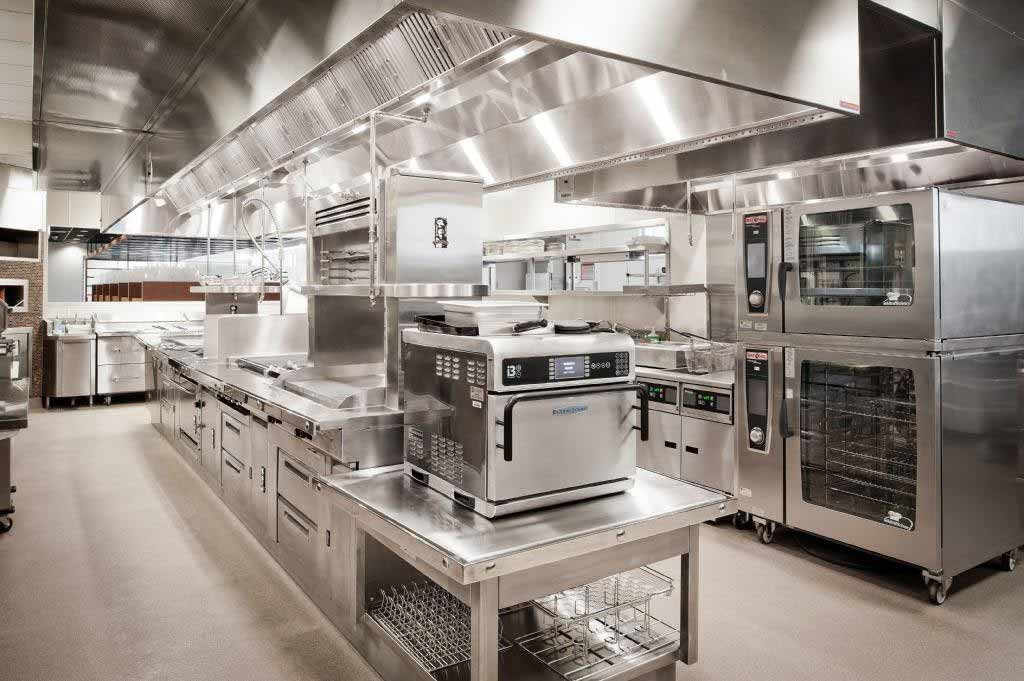 Kitchen at the Manna Restaurant