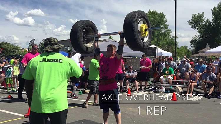 Parker Days Strongman Contest