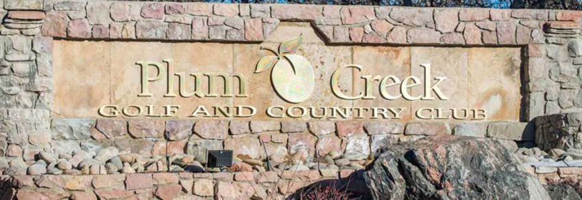 Plum Creek Entrance Sign