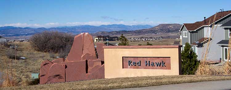 Red Hawk Ridge Castle Rock CO