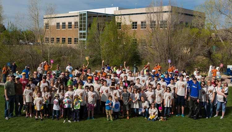 Spring Up the Creek Volunteers