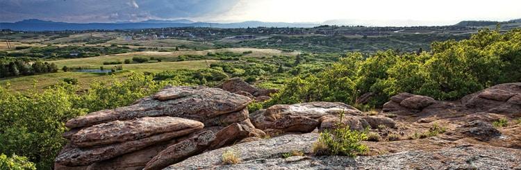 Terrain Open Spaces Castle Rock