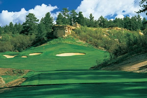 The Ridge at Castle Pines North, Golf Course